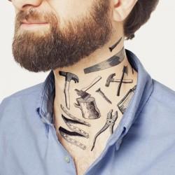 Tattoo éphémère - Lot de 8 - Tool Set