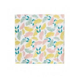 20 serviettes en papier - fleuri 33x33cm
