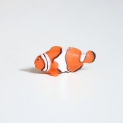 Mini figurine poisson clown