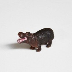 Mini figurine hippo